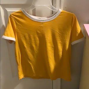 Basic yellow shirt